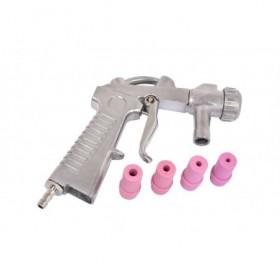 Pistolet do piaskarki kabinowej różowy FR7008