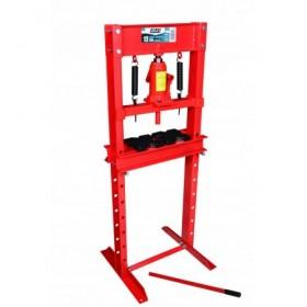 Prasa warsztatowa hydrauliczna 12 ton czerwona FR5004