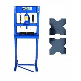 Prasa warsztatowa hydrauliczna 12 ton niebieska FR5004