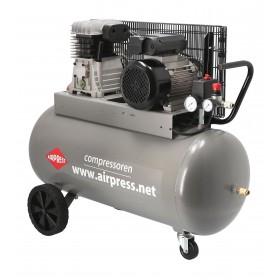 Kompresor tłokowy profesjonalny Airpress 90L 10 bar
