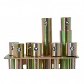 Set of extensions for workshop press 20T FR5020