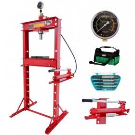 20T Workshop press with hand pump FR5010