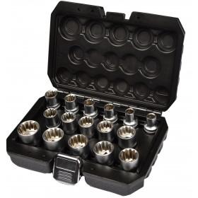 """Nasadki Vario 1/2"""" 8 - 24 mm calowe/metryczne FR2067"""