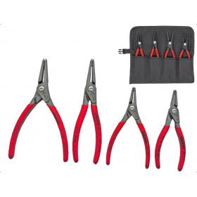 KNIPEX zestaw szczypce do pierścieni zew/wew SEGER'a  x4
