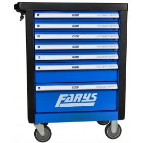 Szafka warsztatowa narzędziowa wózek garażowy FR4033 niebieska