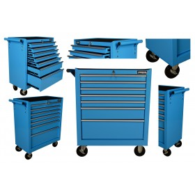 Szafka warsztatowa narzędziowa garażowa FR4028 niebieska