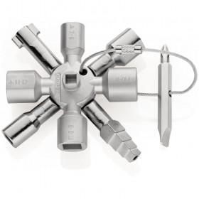 KNIPEX TwinKey Do wszystkich standardowych tablic rozdzielczych i systemów odcinających 00 11 01