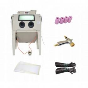 Piaskarka kabinowa oczyszczarka komorowa 420l FR7016