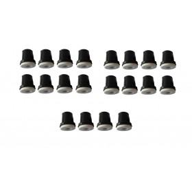 Zestaw dysze ceramiczne czarne do piaskarki syfonowej -20szt  FR7004-20