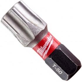 BIT BITY TORX T50 X 25MM SHOCKWAVE MILWAUKEE 1szt