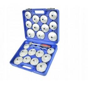 Klucze nasadki aluminiowe do filtrów oleju 23el. FR4178